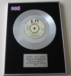 LAUREL AND HARDY - THE TRAIL OF THE LONESOME PINE PLATINUM single presentation DISC